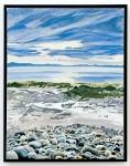 Rocks, Surf and Sky - B.C. thumbnail