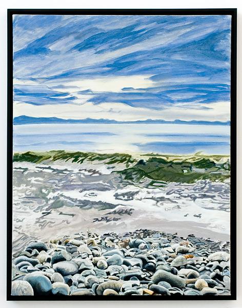 Rocks, Surf and Sky - B.C.