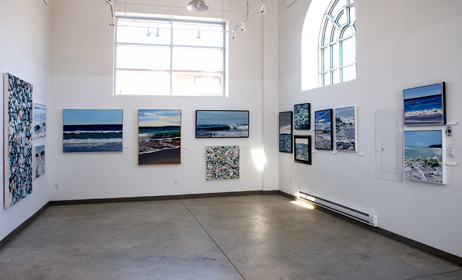 The Waves Series Exhibition View