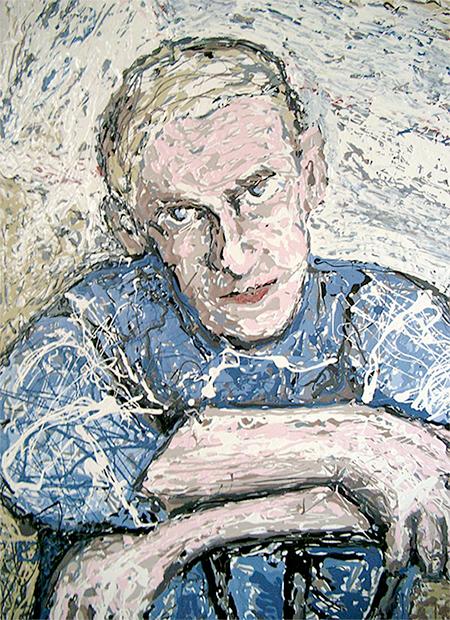 24″ x 36″, acrylic on canvas