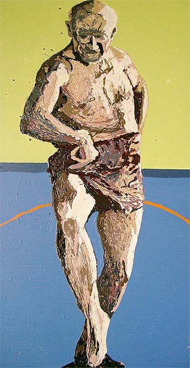 30″ x 60″, acrylic on canvas