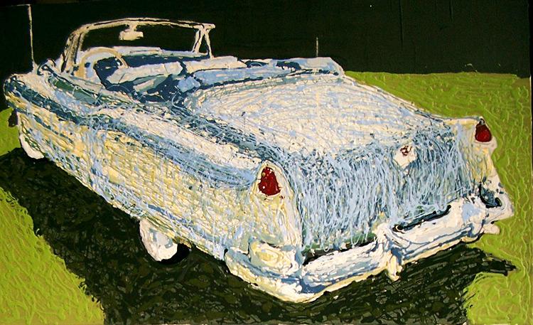 1952 Caddy, Rear
