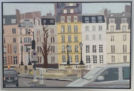 """Paris Metro  24""""x 36"""""""