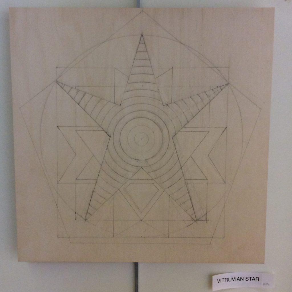 Vitruvian Star - Unpainted